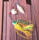 1/2 oz spinnerbait Fishing Lures Murray Cod Bass Yellowbelly Perch Trout Barra