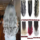 Real Thick Full Head Clip in Hair Extensions Extentions 18 C