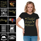 Thanksgiving Shirts for Women Thanksgiving T Shirts Funny Thanksgiving Tops