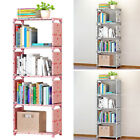Внешний вид - Home DIY Bookshelf Books Storage Rack Simple Bookrack Assembly Stand Wardrobe