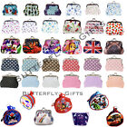 Ladies Children's Kids Coin Purse Small Make Up Bag Over 30 Designs
