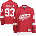 Reebok Johan Franzen Detroit Red Wings Mens Red Home Premier Jersey NHL