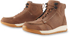 ICON TRUANT 2 BROWN Motorcycle Boots FREE SHIPPING