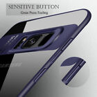 For Samsung Galaxy A8/6 S9 Note 9 Luxury Slim Hybrid Clear Shockproof Case Cover