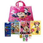 Disney Mickey Minnie Mouse Paw Patrol Coloring Books Pencils Tote Bag G Bundle
