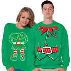 Christmas Couple Elf Sweater Ugly Christmas Sweater for Couples Christmas Gifts