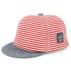 Trendy Apparel Infant to Toddler Striped Adjustable Baseball Cap - FREE SHIPPING