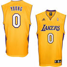adidas Nick Young Los Angeles Lakers Youth Replica Home Jersey - NBA