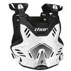 Thor 2017 Youth Sentinel GP Chest Protector - White/Black