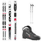 Rossignol EVO First 49 Cross Country Ski's W/ Boots, Bindings, Poles