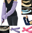 Ladies Outdoor Driving Gardening Golf Bowling Long Arm Covers Sun Block Sleeves