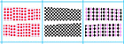 Hot Nail Art Tip CHECKERED Print Decal Wrap Water Transfer Sticker Decoration
