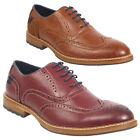 Men's lace up formal Casual Work Office Party Wedding Italian style shoe Brogue