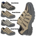 MENS HIKING BOOTS WALKING OUTDOOR TRAIL TREKKING RUGGED TRAINERS SHOES SIZE 7-12