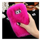 Phone Mobile Back Case Cover Ultra Luxury Warm Soft Comfy REX Fluffy Fur Skin   New