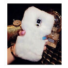 Phone Mobile Back Case Cover Ultra Luxury Warm Soft Comfy REX Fluffy Fur Skin   <br/> For Apple iPhone 4 5 5S 6 6 plus Samsung Galaxy S3 S4,6