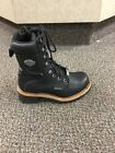 Harley-Davidson Women's Tyson 7-Inch Black Leather Motorcycle Boots D87016