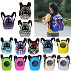 Breathable Dog Cat Pet Backpack Carrier Trave Hard Shell Space Capsule Bag-PICK