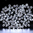 LED Solar Christmas Lights 7M 50Balls Fairy Decorative String Lights for Holida