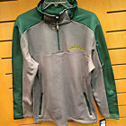 "OREGON DUCKS ""Charged Performance"" 1/4 Zip Pullover Gray/Green"