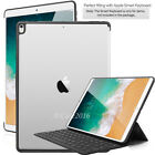 F Apple iPad Pro 10.5/12.9 Case Back Cover Compatible w/ Official Smart Keyboard