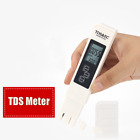 TDS Pen Water Tester Meter Total Dissolved Solids Check PH Meter Strips Test