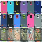 For Samsung Galaxy S5 Case Cover w/ (Belt Clip fits Otterbox Defender series)