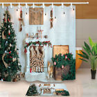 Beautiful holiday decorated room with Christmas tree Shower Curtain & 12hooks