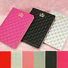 Luxury Crown PU Leather Smart Case Stand Cover for iPad air 2/iPad 3 4/mini 3