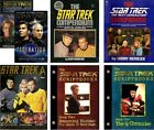 STAR TREK Multi Listing BOOKS & MAGAZINES now out of print FREE UK POSTAGE