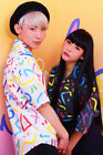 galaxxxy  80s Neon painting shirt