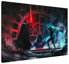 Father Vs Son HD Canvas Art  Print (FRAMED) Fast Shipping! Star Wars Luke Vader $55.1 USD