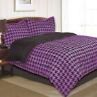 Divatex Knowledgeable in Fashions Houndstooth Mini Comforter Set