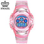 SMAEL Children Girl Watch LED Digital Electronic Wristwatch Student Gift Watches image