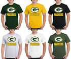 green bay g - Green Bay Packers T-Shirt Graphic GB Cotton Men Adult G Logo Jersey