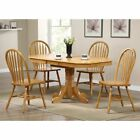 Sunset Trading 5-Piece Butterfly Dining Set with Arrowback Chairs
