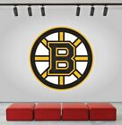 Boston Bruins Logo Wall Decal Ice Hockey Sports Vinyl Sticker NHL CG204 $33.95 USD on eBay