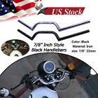 "7/8"" 22mm Motorcycle Handlebars Rising Drag Handle Bar For Cruiser Cafe Racer $120.08 USD on eBay"