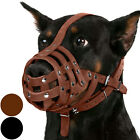 Doberman Dog Muzzle Leather Collie Basket Black Brown