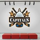 Washington Capitals Logo Wall Decal Ice Hockey Sports Vinyl Sticker NHL CG216 $25.95 USD on eBay