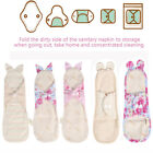 Washable Organic Cotton Menstrual Pad Day&Night Panty Liner Sanitary Cloth