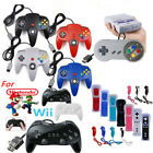 Motion Plus Remote Controller Gamepad For Nintendo Wii& Wii U / N64 / SNES / NES