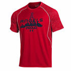 Under Armour Los Angeles Angels Red Apex Print Performance T-Shirt - MLB