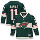 Fanatics Branded Zach Parise Minnesota Wild Youth Green Replica Player Jersey