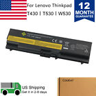 New 6 Cell 70  0A36303 Battery For Lenovo Thinkpad L420 T430 W530 T530 L430 L530