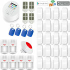 Z19 APP WiFi IP GSM GPRS PSTN RFID Wireless Home Security Burglar Alarm System