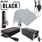 Hydroponics Lumii BLACK 600w HPS  Magnetic Dimmable Ballast Bulb Grow Light Kit