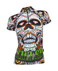 MIMO DESIGN KILLER SKULL Woman;s Cycling Jersey Short Sleeve