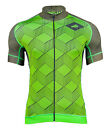 MIMO DESIGN GEOMETRIC CUBE Men's Cycling Jersey Short Sleeve