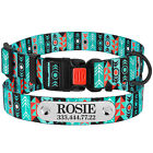 Dog Collar Nylon Collars for Dogs Puppy Adjustable Small Large Tribal Pattern